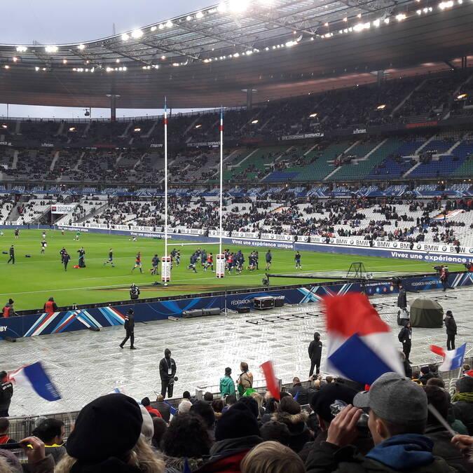 France-Irlande au Stade de France