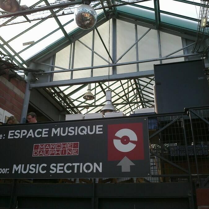 Espace musique au marché Dauphine